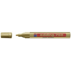 Edding Edding Lackmarker 750 gold 2-4mm