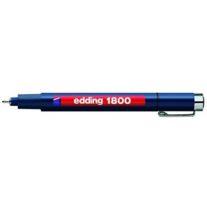 Edding Edding Faserzeichner 1800 Profipen 0,7Mm Schwarz