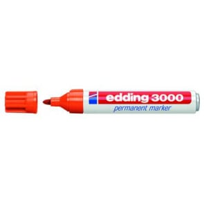 Edding Edding Filzschreiber 3000 rot