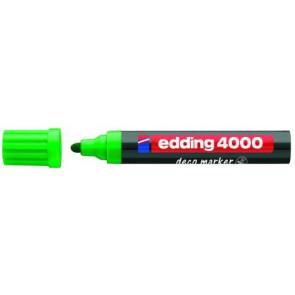 Edding Edding Deco Marker 4000 Grün Breit Ca 2-4Mm für Holz+Terracotta Etc.