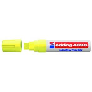 Edding Edding Kreidemarker 4090 Breit 4-15mm neongelb Window-Marker