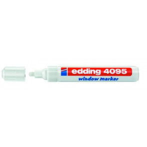 Edding Edding Kreidemarker 4095 dünn 2-3mm weiss Window-Marker