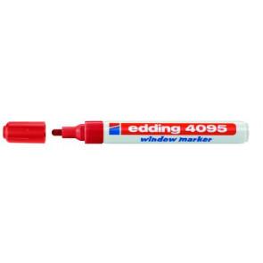 Edding Edding Kreidemarker 4095 Dünn 2-3mm rot Window-Marker