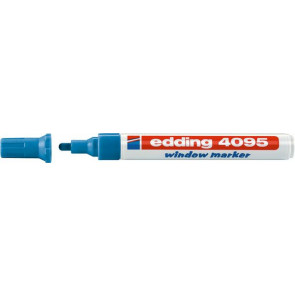 Edding Edding Kreidemarker 4095 Dünn 2-3mm blau Window-Marker
