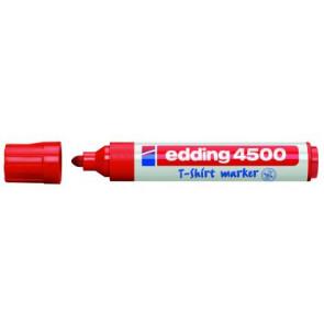 Edding T-Shirt-Marker Edding 4500 Rot
