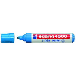 Edding T-Shirt-Marker Edding 4500 Hellblau