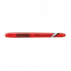 Herlitz Tintenroller My Pen radierbar rot Herlitz