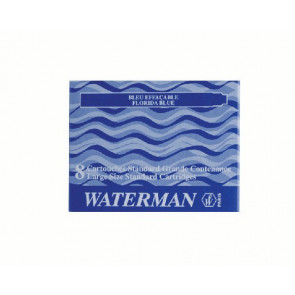 Waterman Tinten-Patrone 8 Stück Schwarz 274020 Waterman