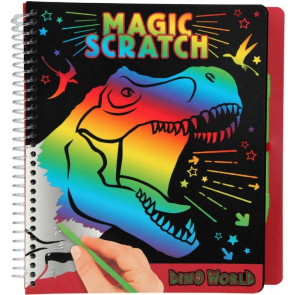 Dino World Magic Scratch Book || Depesche 10829