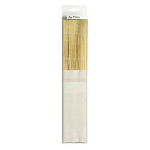 da Vinci Bambusmatte mit Baumwoll- tasche zum Aufbewahren und trocknen von Pinseln