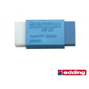 Edding Radiergummi DR20 für Blei und Tinte