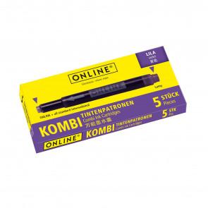 Online Tintenpatrone Kombi sortiert 5 Stück lila