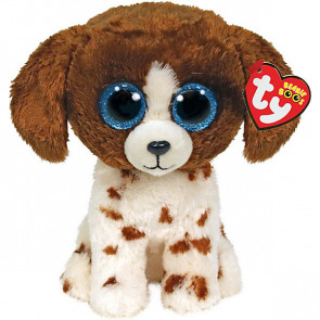 Ty Plüsch puffies 15cm Muddles Hund