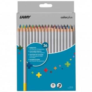 LAMY colorplus 36er-Set-Faltschachtel Farbstifte