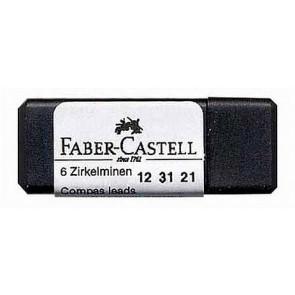 Faber Castell Zirkelminen Ersatzminen 2105 6Er-Dose