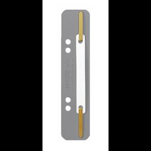 Leitz Einhänge-Heftstreifen Kurz Kart 3710 Grau 25St