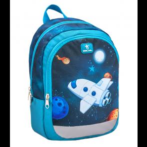 "Belmil Kiddy ""Spaceship"" Kindergarten Rucksack ""blau"""