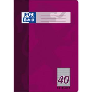 Oxford Schulheft DIN A4 Lineatur 40 kariert 16 Blatt