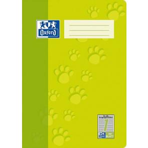 Oxford Schulheft DIN A5 1.Schuljahr 32 Blatt Lineatur 1 farblich hinterlegt