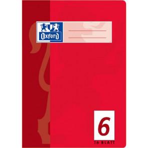 Oxford Schulheft DIN A5 16 Blatt Lineatur 6 blanko