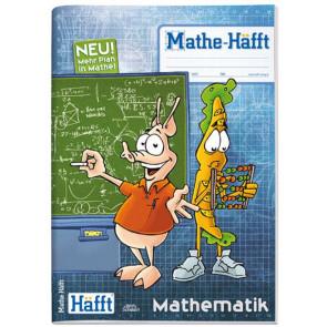 Häfft Mathe Häfft A4 64S kariert 2farbig Lernüber- sichten und Hintergrund-