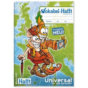 Häfft Vokabelheft Häfft A6 64S Universal alle Sprachen