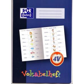 Oxford Vokabelheft DIN A4 16 Blatt LIN4V (3-spaltig zum Malen)