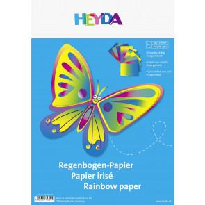 HYDA Bastelmappe 22,5x32,5cm Buntpapier 204875309