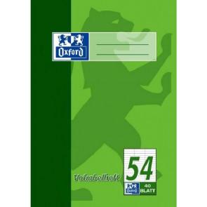 Oxford Vokabelheft DIN A5 40 Blatt liniert Lineatur 54