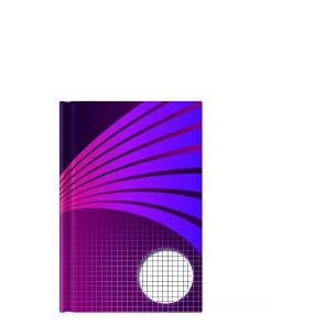 Kladde A5 192 Seiten kariert pink Motiv
