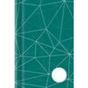 Kladde A5 192 Seiten blanko grün Motiv