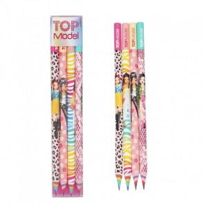 TOPModel Bleistift-4er Set || Depesche 8770