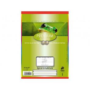 Staufen Spiralblock DIN A5 40 Blatt Lineatur 1