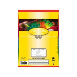 Staufen Spiralblock DIN A5 40 Blatt Lineatur 2