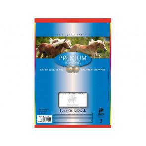 Staufen Spiralblock DIN A5 40 Blatt Lineatur 3