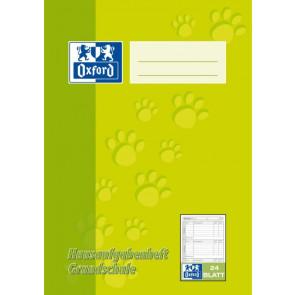 Oxford Hausaufgabenheft DIN A5 24 Blatt Grundschule 90g Oxford 385502415 und 100057952