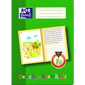 Oxford Schreiblernheft DIN A4 16 Blatt Lineatur 1G Geschichtenheft
