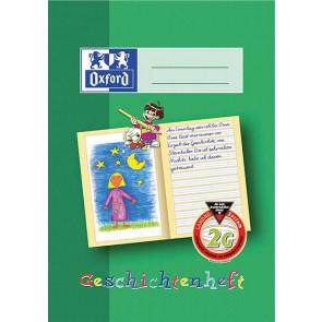 Oxford Schreiblernheft DIN A4 16 Blatt Lineatur 2G Geschichtenheft