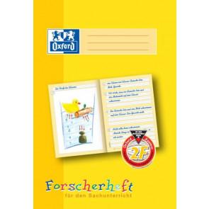 Oxford Schreiblernheft DIN A4 16 Blatt Lineatur 2F Forscherheft
