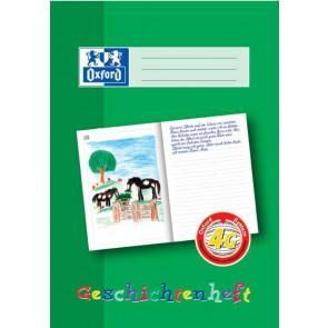 Oxford Schreiblernheft DIN A4 Lineatur 4G Geschichtenheft 16 Blatt