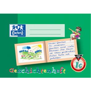 Oxford Schreiblern-Heft A5 16Bl Lin 1G Geschichtenheft Oxford