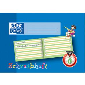 Oxford Schreiblern-Heft A5 16Bl Lin O Bayern farbiger Mittelband Oxford