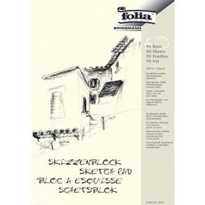 Folia Skizzen-Block A4 50Blatt 120Gr