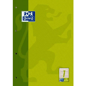 Oxford Arbeitsblock DIN A4 50 Blatt Lineatur 1