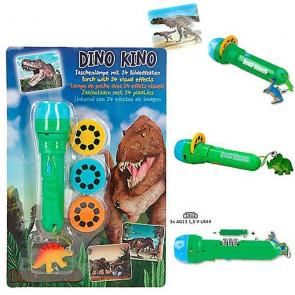 Dino World Taschenlampe mit Bildeffekten || Depesche 5950