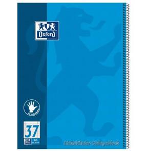 Oxford Collegeblock Linkshänder A4 80 Blatt liniert Rand 90g Papier Lin27 = neu 37