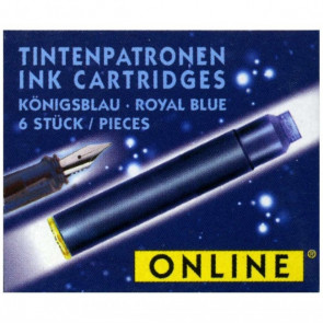 Online Tintenpatrone Standard königsblau 6Stück