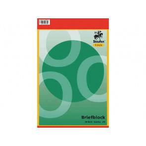 Linea Briefblock A4 50Bl blanko unliniert ungelocht Linea