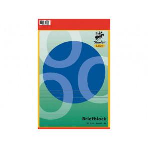 Linea Briefblock A4 50Bl liniert ungelocht Linea