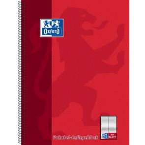Oxford Collegeblock DIN A4 80 Blatt Lineatur 53 für Vokabeln